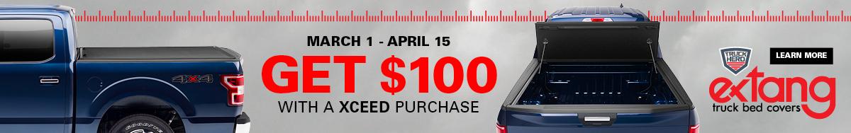 $100 Extang Xceed Rebate
