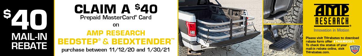 AMP $40 BedStep BedXtender Rebate