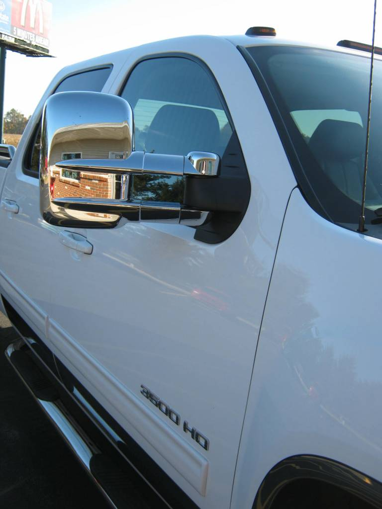 Gmc Sierra Putco Chrome Towing Mirror Covers
