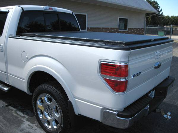 Photo Gallery 09 14 Ford F 150 09 Ford F150 With A Tuxedo Toolbox Combo Tonneau Cover