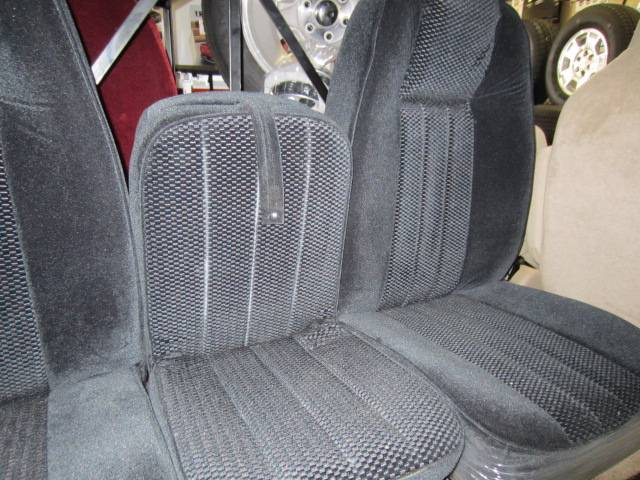 Ford F250 Parts >> 80-96 Ford F-150 Ext Cab with Original OEM Bucket Seats C-200 Black Cloth Triway Seat Dick's ...