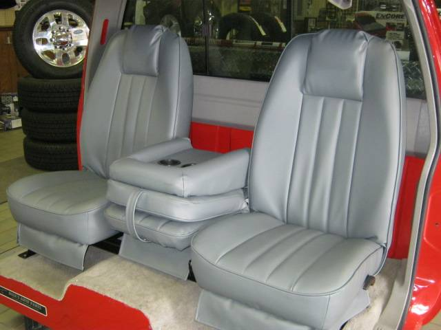 73 79 Ford Full Size Truck V 200 Gray Vinyl Triway Seat Dick S Auto Parts Middlebury Indiana 574