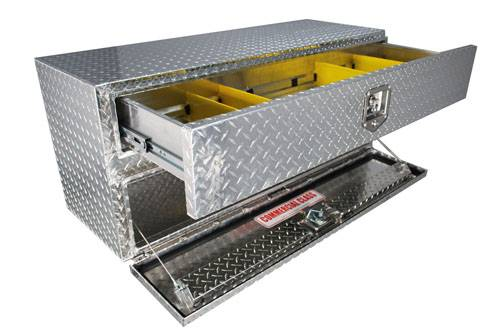 Unique Brute Commercial Under Body W Drawer Toolbox Model