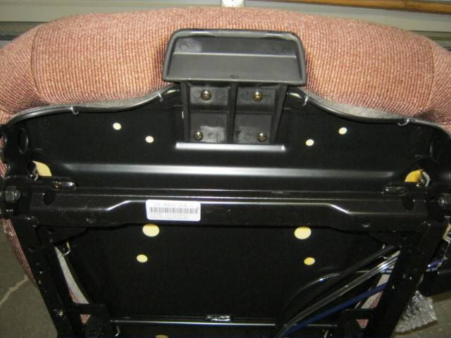 Sears Tractor Air Ride Seats : M freightliner semi truck brown cloth sears series air