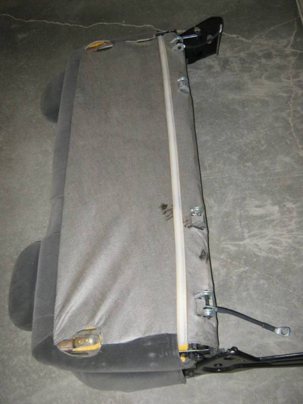 99 06 Chevy Silverado Gmc Sierra Extended Cab Gray Cloth