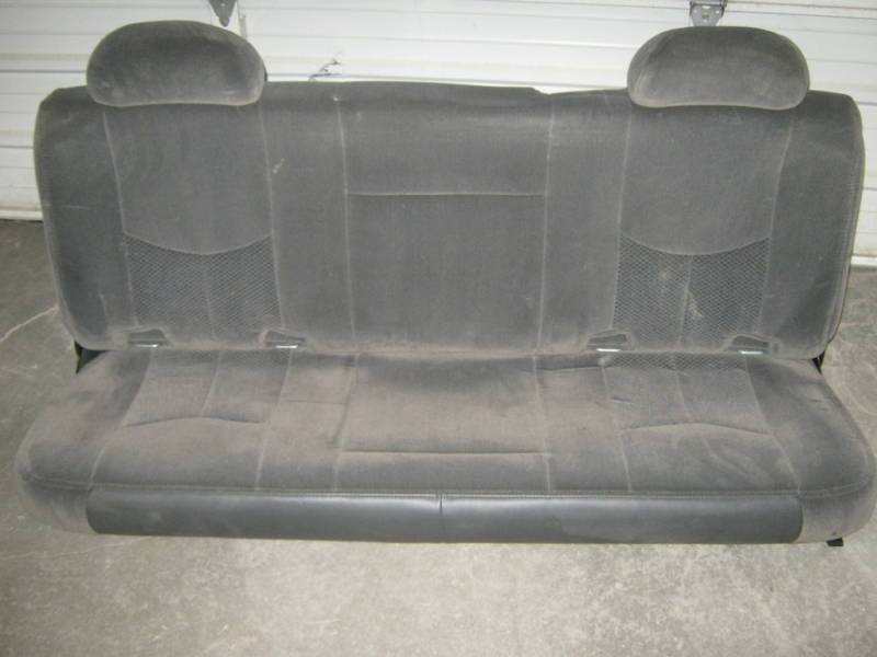 Terrific 99 06 Chevy Silverado Gmc Sierra Extended Cab Gray Cloth Bralicious Painted Fabric Chair Ideas Braliciousco