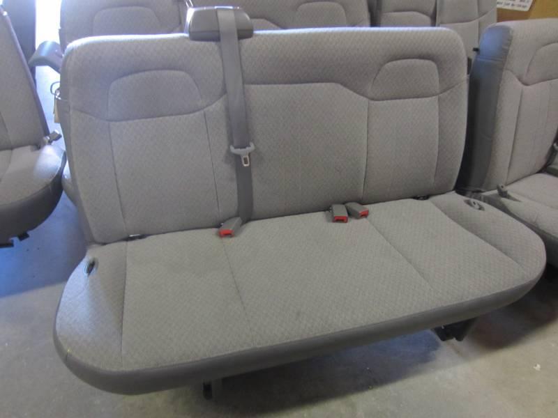 11-16 Chevy Express/GMC Savana Van 2nd/3rd row 3-passenger ...