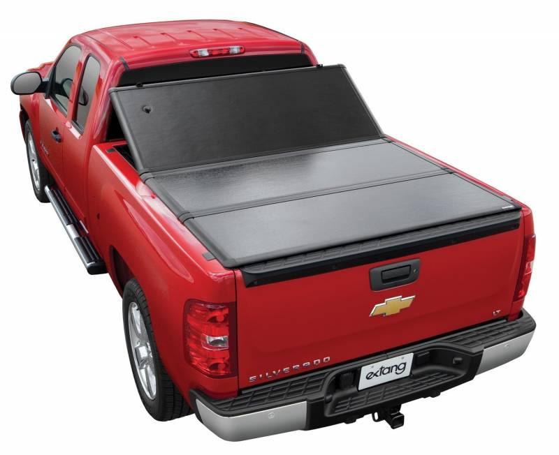 Tundra Tonneau Cover >> Used 07-13 Toyota Tundra 6.5' Short Bed Extang Encore Hard Folding Tonneau Cover, Dick's Auto ...