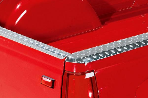 88-98 Chevy/GMC C/K Short Bed Truck K&W Black Wrap-Around ...