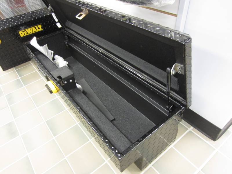 "Ford Explorer Pickup >> 48"" DeWalt Black Industrial-Grade Side Mount Truck Toolbox, Dick's Auto Parts, Middlebury, IN"