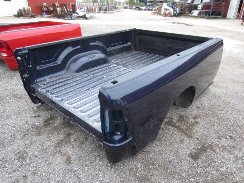 used 09 14 dodge ram dark blue 8 39 long bed dick 39 s auto parts middlebury in. Black Bedroom Furniture Sets. Home Design Ideas