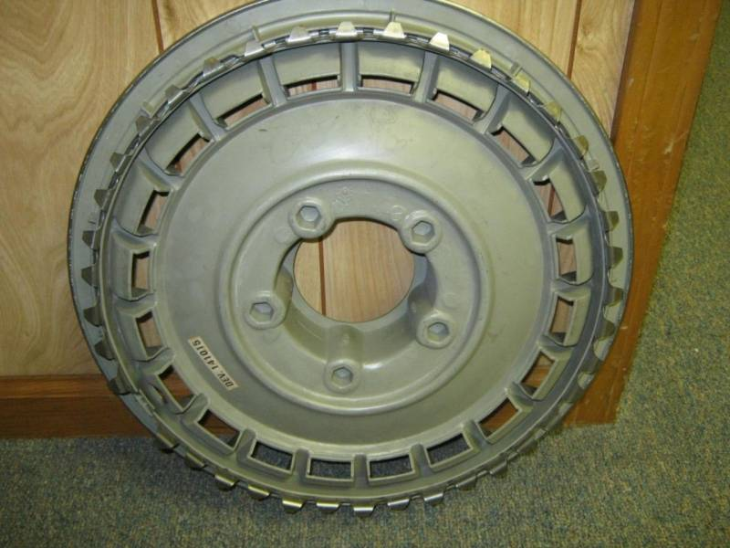 92 96 Ford F 150 Front 4x4 Center Cap 15 Quot Wheel Cover