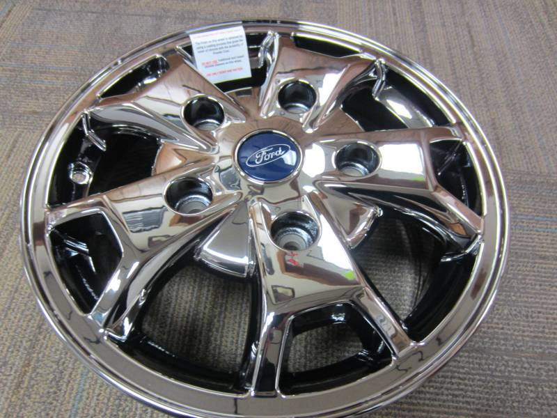 """Ford Transit 250 >> 2015 Ford Transit 250 Van 5 Lug 16"""" PVD Chrome Wheels *Set of 4, Dick's Auto Parts, Middlebury, IN"""