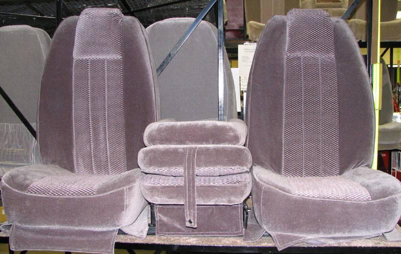 73-91 Chevy/GMC Crew Cab Truck/Suburban C-200 Dark Gray Cloth Triway Seat, Dick's Auto Parts ...
