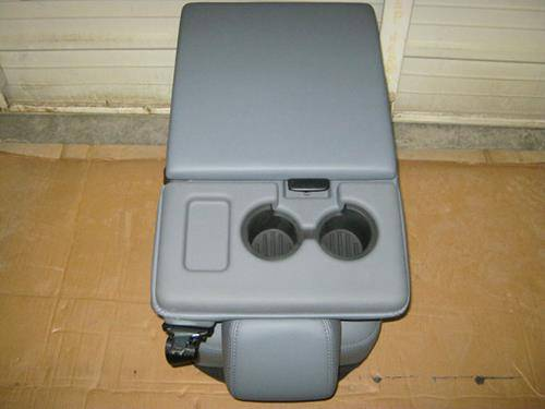 Ford F250 Parts >> 11-16 Ford F-250/F-350/F-450 Super Duty Gray Vinyl Jump Seat Center Console, Dick's Auto Parts ...