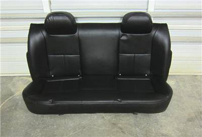 09 15 Chevy Impala Black Vinyl Oem Police Unit Rear Bench
