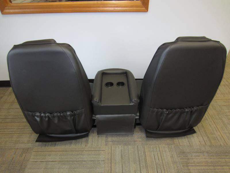 94 97 Dodge Ram Club Cab V 200 Black Vinyl Triway Seat