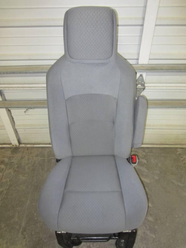 Nissan Passenger Van >> 08-15 Ford Econoline Van Gray Cloth Passenger's Side ...