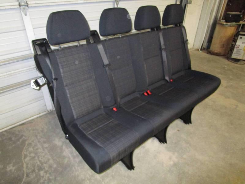 14-18 Mercedes Benz Sprinter Van 4-Passenger Black Cloth