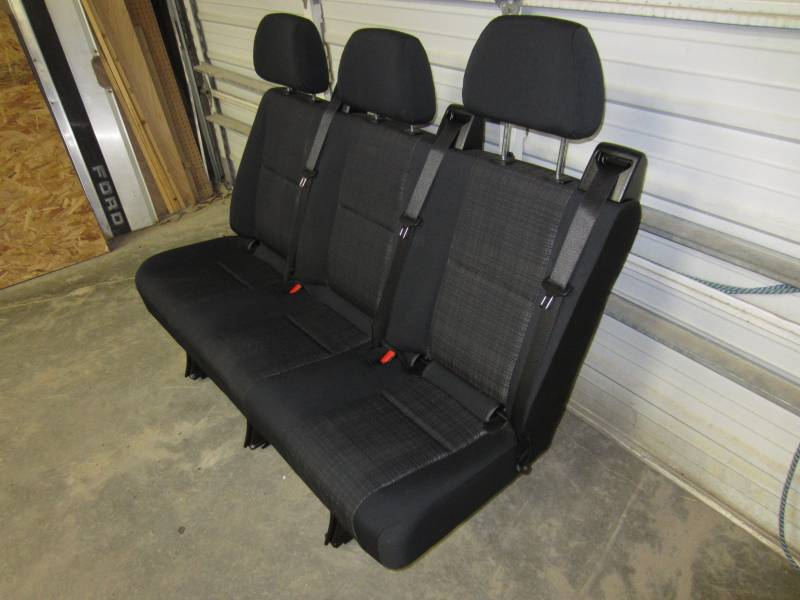 14 16 Mercedes Benz Sprinter Van 3 Passenger Black Cloth