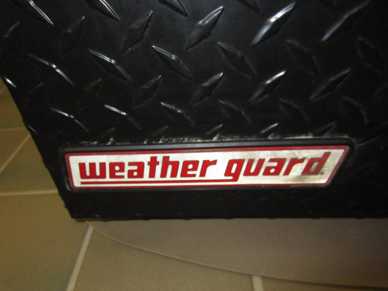Weatherguard 64 1 4 Quot Super Hi Side Black Diamond Plated