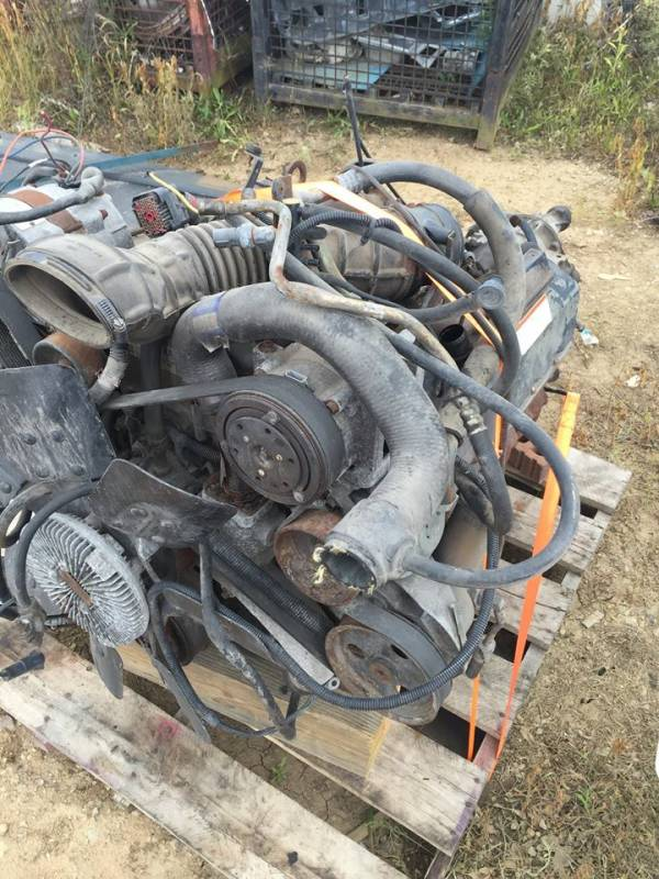 94-95 Ford E-350 Econoline Van 7.3L Engine Core Parts and Transmission, Dick's Auto Parts ...
