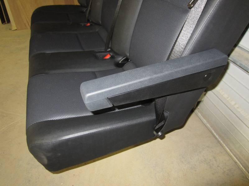 14 18 Mercedes Benz Sprinter Van 3 Passenger Black Leather Rear