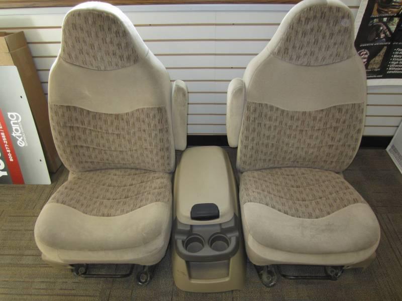 Ford F150 Super Duty >> 99-00 Ford F-250/F-350 Super Duty Tan Cloth Bucket Seats w/ Center Console, Dick's Auto Parts ...