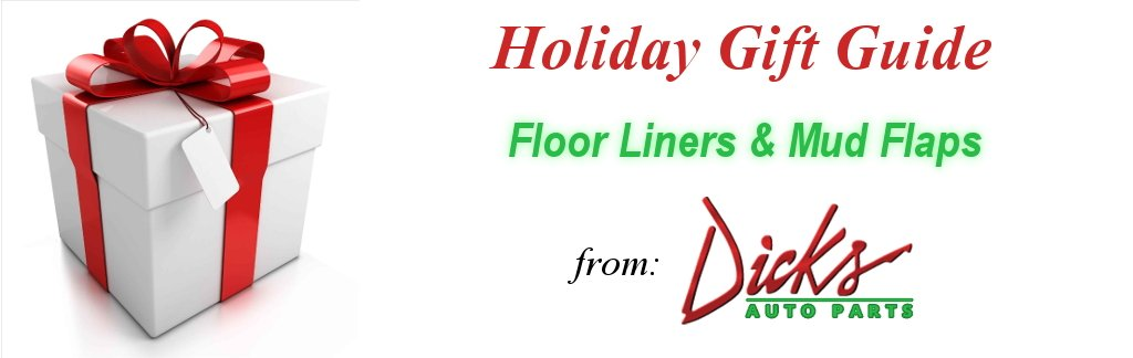 Holiday Gift Guide - Floor Liners & Mud Flaps