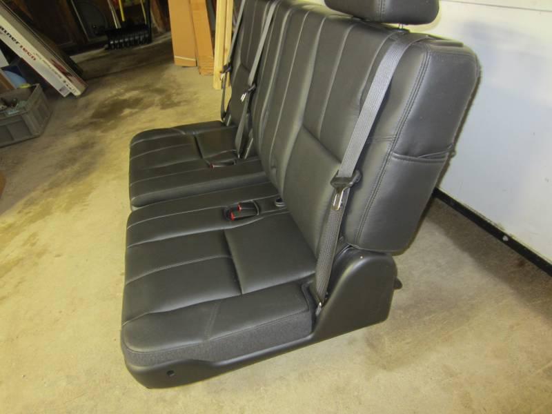 07-13 Chevy Suburban/GMC Yukon XL OE Black/Ebony Leather ...