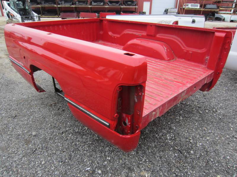 Used 94-01 Dodge Ram 1500/2500/3500 Red 8' Long Truck Bed ...