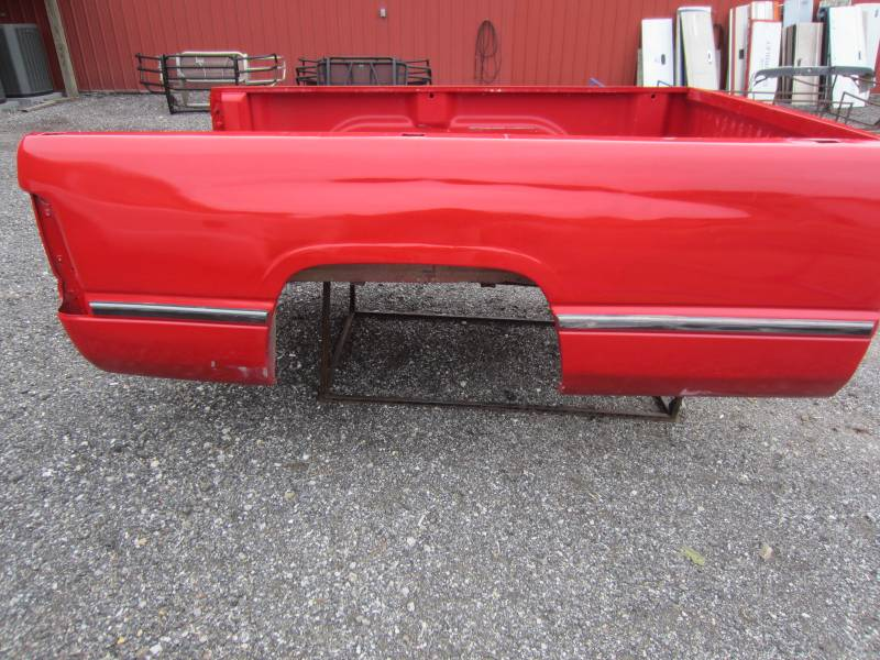 Used 94 01 Dodge Ram 1500 2500 3500 Red 8 Long Truck Bed