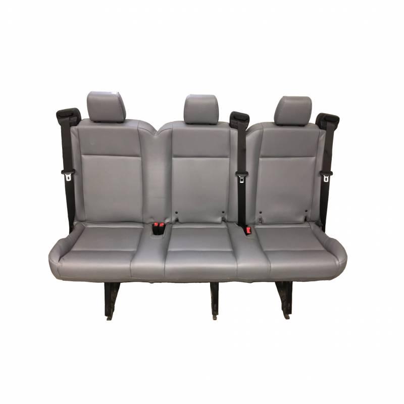 15 18 Ford Transit Van Oem Pewter Gray Vinyl 3 Passenger