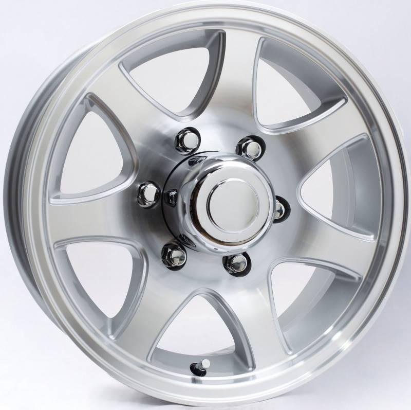 "15"" 5-Lug 7-Spoke Aluminum Trailer Wheel Dick's Auto Parts Middlebury, IN"