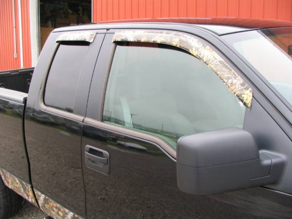 Rain Guards For Trucks >> Photo Gallery - 04-08 Ford F-150 Trucks - Stampede Camo ...