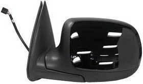 Kool Vue - 99-02 CHEVY SILVERADO /SIERRA PICKUP MIRROR LH, Power, Heated, Folding Type, Black