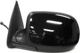 Kool Vue - 99-02 CHEVY SILVERADO MIRROR LH, Power, Heated, Manual Fold, w/o Puddle Lamp, Smooth Cover, w/o Dimmer