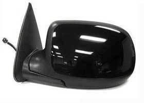 Kool Vue - 00-02 CHEVY Silverado MIRROR LH, Power, Heated, Manual Fold, w/ Puddle Lamp, Paint to Match Cover, w/o Dimmer