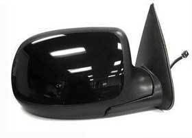 Kool Vue - 00-02 CHEVY Silverado MIRROR RH, Power, Heated, Manual Fold, w/ Puddle Lamp, Paint to Match Cover, w/o Dimmer
