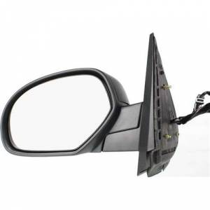Kool Vue - 07-14 CHEVY SUBURBAN MIRROR LH, Power, Heated, C-Textured & Smooth, H-Textured, w/ Two Covers, 10-hole, 5-