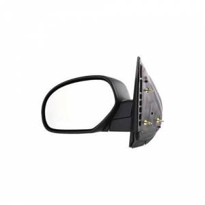Kool Vue - 07-14 CHEVY SILVERADO/GMC SIERRA PICKUP MIRROR LH, Manual Folding, Cover Textured, Head Textured
