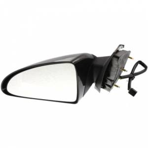 Kool Vue - 06-07 CHEVY MALIBU MIRROR LH, Power, Black, Manual Folding, Glass-Convex, SS/LT Models