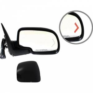 Kool Vue - 03-06 CHEVY SILVERADO/GMC SIERRA MIRROR RH, Textured/Smooth, Power, Heated, Power Folding, w/ Memory &