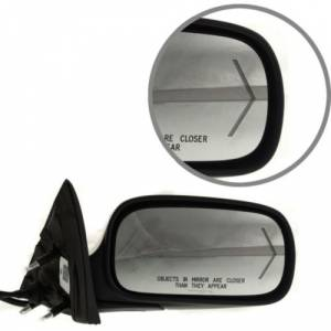 Kool Vue - 06-11 CADILLAC DTS MIRROR RH, Power, Heated, w/ Turn Signal on Glass, w/o Memory & Auto Dimming