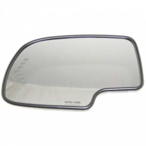 Kool Vue - 00-06 CHEVY SUBURBAN/GMC YUKON XL MIRROR GLASS, LH, w/ Support, w/ Heater, w/ Turn Signal