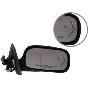 Kool Vue - 06-11 CADILLAC  DTS MIRROR RH, Power, Heated, w/ Turn Signal on glass, w/ Blind Spot Detector & Memory