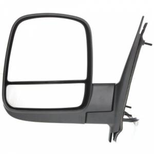 Kool Vue - 08-14 CHEVY EXPRESS VAN/GMC SAVANNA VAN MIRROR LH, Power, Heated, Manual Folding, Textured, w/o Signal Lamp