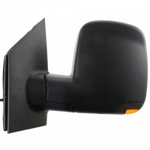 Kool Vue - 08-14 CHEVY EXPRESS VAN/GMC SAVANNA VAN MIRROR LH, Power, Heated, Manual Folding, Textured, w/ Signal Lamp