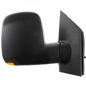 Kool Vue - 08-14 CHEVY EXPRESS VAN/GMC SAVANNA VAN MIRROR RH, Power, Heated, Manual Folding, Textured, w/ Signal Lamp