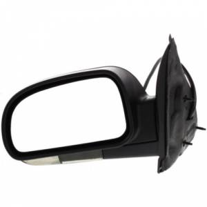 Kool Vue - 06-09 CHEVY TRAILBLAZER MIRROR LH, Power, Heated, Power Folding, Textured, w/ Signal Lamp